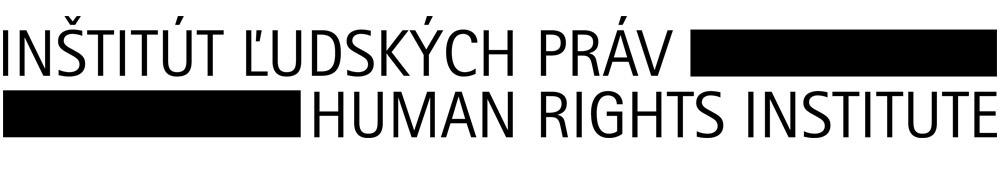 Inštitút ľudských práv – Human Rights Institute