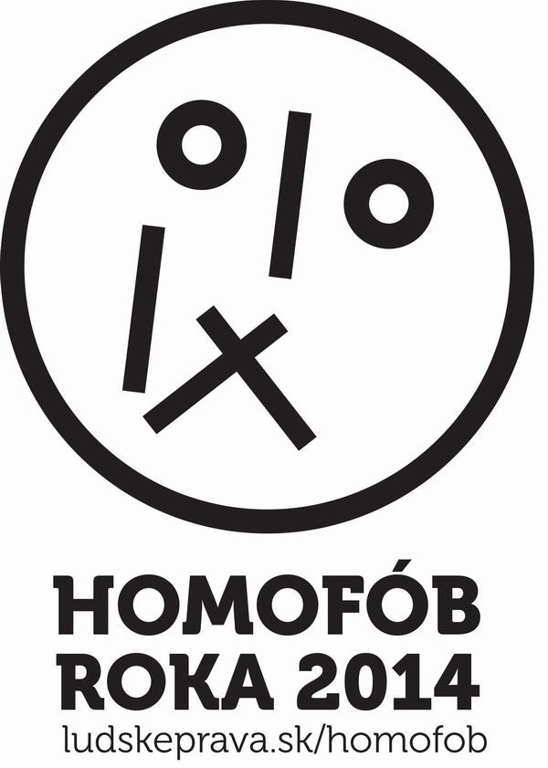 Homofob roka 2014 logo