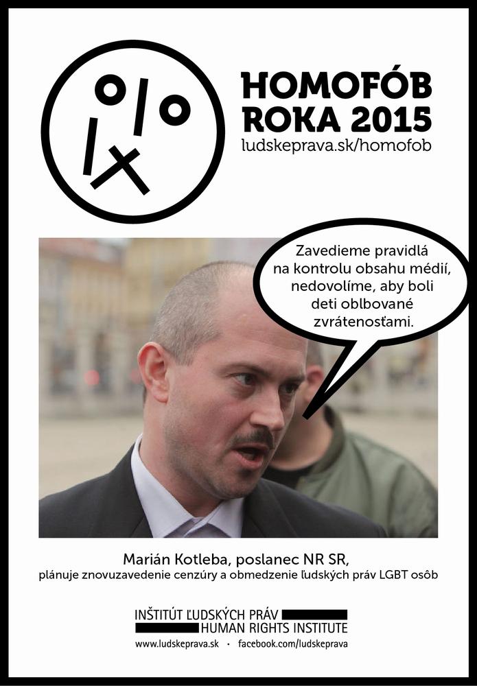Homofob roka 2015