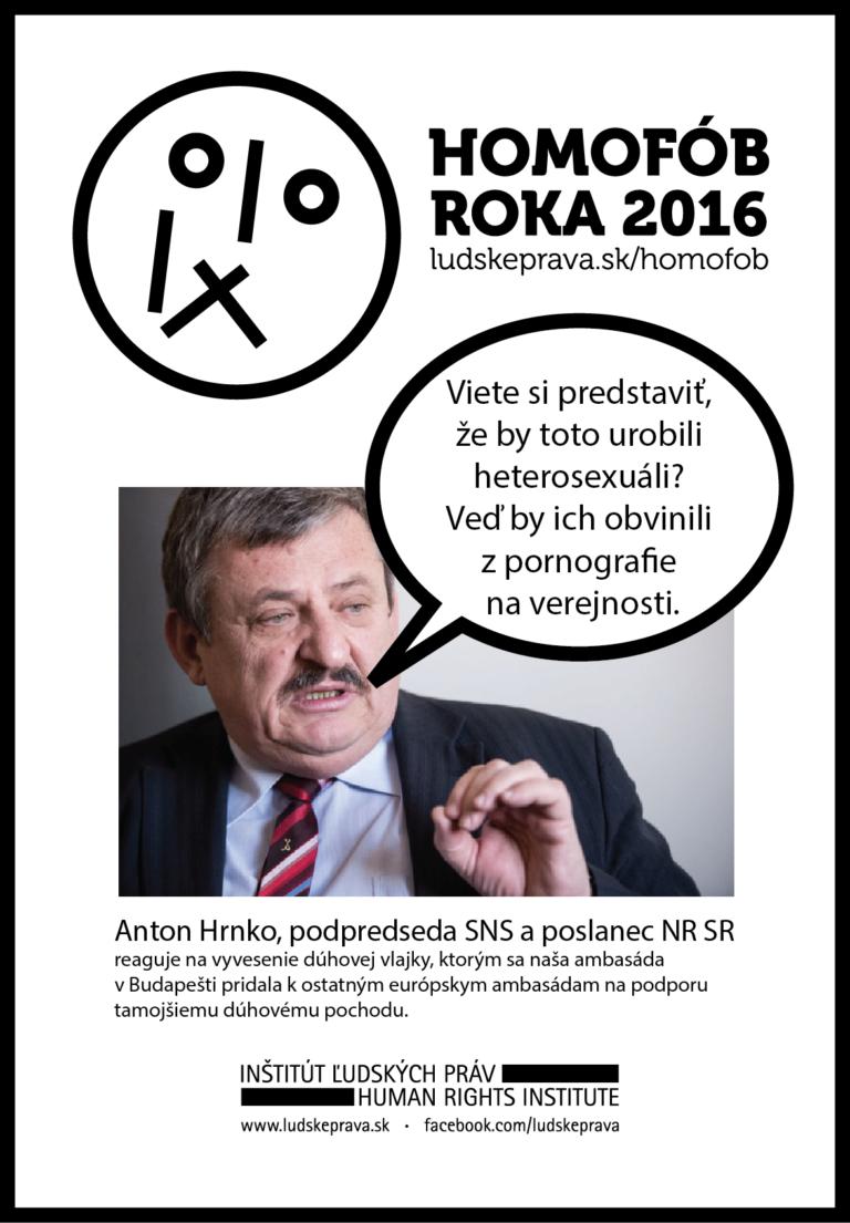 Homofob roka 2016