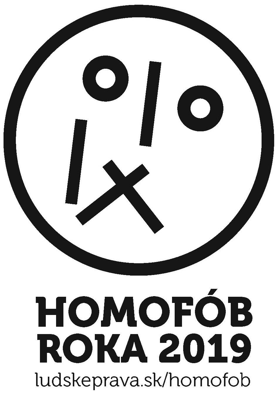 Homofob roka 2019 logo